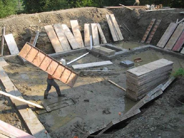地下室开挖